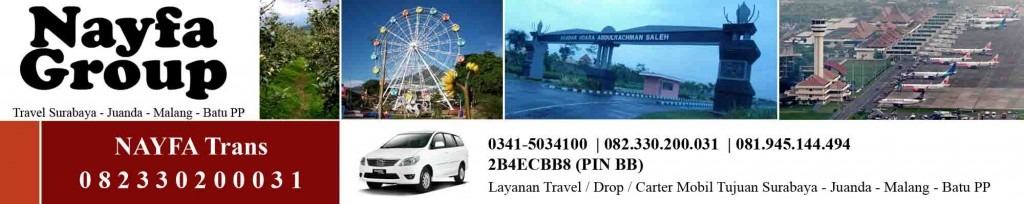 travel malang juanda PP