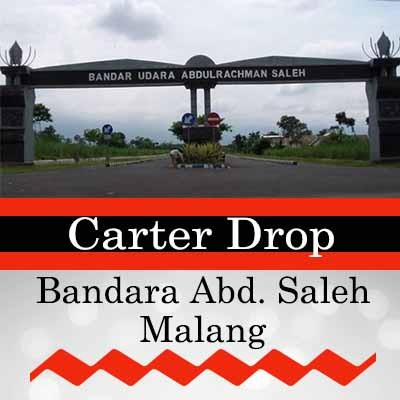 Travel dan carter drop Malang Abdul Rahman Saleh